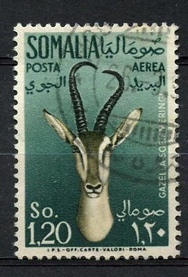 Somalia 1955 SG#295, 1s20 Air, Gazelle Used #A68772
