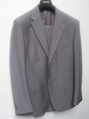 Valentino Wool/Mohair Men's Suit Size 44 New Italy