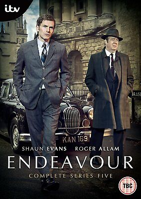 Endeavour Season Series 5 Five Fifth DVD R4 New and Sealed