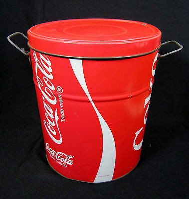 "Vintage 1983 Coca-Cola collector tin 12"" Tall and 10"" Wide"