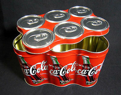 1998 Coca-Cola 6-Pack Collectors Tin