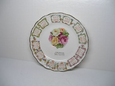 ANTIQUE VINTAGE 1909 O.D. HOLCOMBE MAUCH CHUNK PA CALENDAR PLATE