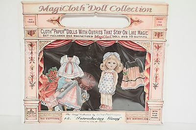 """MagiCloth Doll Collecton Vogue Doll """"Introducing Ginny"""" Schylling 1995"""