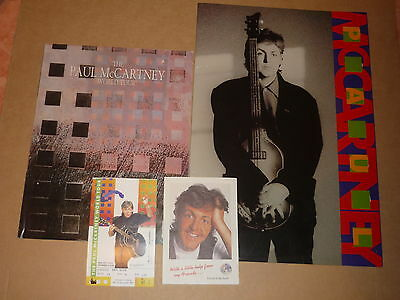 "Paul McCartney ""Friends Of The Earth Tour"" 1990 Programme/Book/Ticket/Flyer"