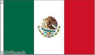 Mexico 5'x3' Flag *** TO CLEAR ***