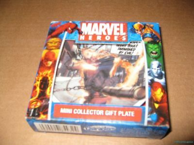 Marvel Heroes Comics Mini Collector Plate Ghost Rider