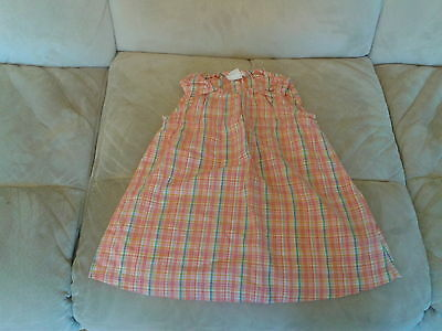 Baby Girls 12 Months - Pink & Multi Coloured Small Check Summer Dress - H&M