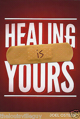 """Healing Is Yours!"" Joel Osteen CD & DVD Series & ""Healed of Cancer"" book -Dodie"
