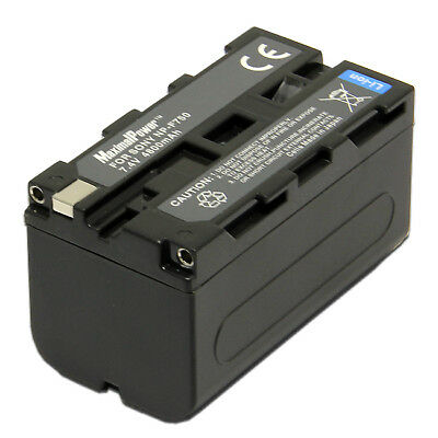 For SONY NP-F750 Camera Camcorder Battery NP-F970 F960 F950 F930 F770 F570 4.8Ah