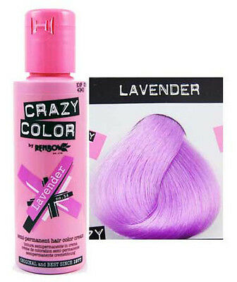 Crazy Color Renbow Hair-Dye 100ml. Choose your colour. Pack of 2 or 4