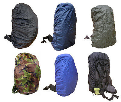 Rucksack Rain Dust Waterproof Bag Back Travel Pack Backpack Poncho Cover Mixed
