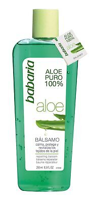 Babaria Naturals 100% Aloe Vera Repairing Balsam / After Sun Gel 250ml