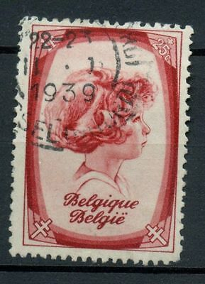 Belgium 1938 SG#835, 1f Anti-Tubercolosis Fund Used #A38322