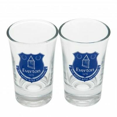 4 Everton Fc Shot Glasses