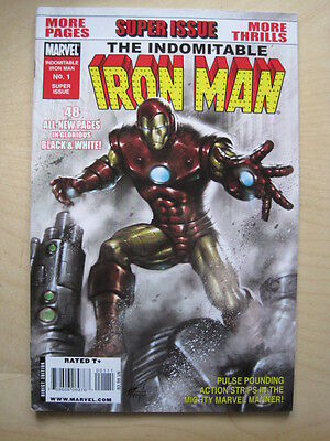 The INDOMITABLE IRON MAN 1. 48 page ONE-SHOT. MARVEL. 2010