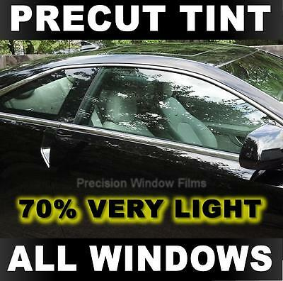 Precut Window Tint for Ford F-250, F-350 Extended Cab 80-89 -70% Very Light Film