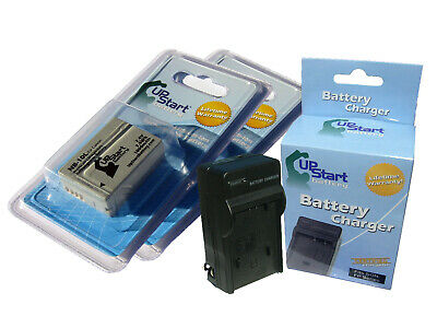 2X Battery+Charger for Canon NB-10L CB-2LC PowerShot SX40 HS SX40HS G1 X G1X