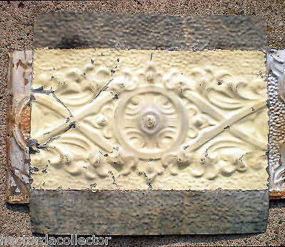 Sale Antique Victorian Nouveau Ceiling Tin Shabby Chic Cabinet Doors