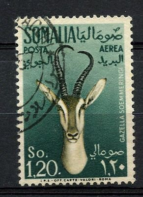 Somalia 1955 SG#295, 1s20 Air, Gazelle Used #A68770