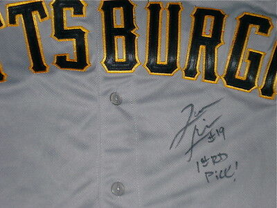 Jameson Taillon Autographed Jersey (Pirates) W/ Proof!