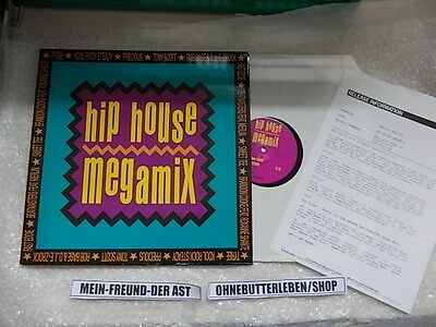 "LP VA Hip House Megamix 12"" (3 Song) + presskit BCM BRIAN CARTER MUSIC"