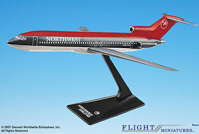 Flight Miniatures Northwest Airlines NWA 1989 Boeing 727-200 1/200 Scale New