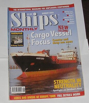 Ships Monthly January 2003 - Cargo Vessel Focus/strength In Neutrality