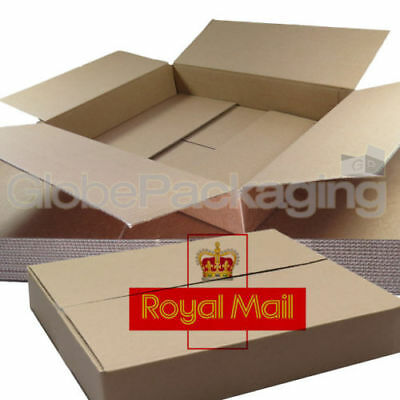 15 x MAXIMUM SIZE ROYAL MAIL SMALL PARCEL PACKET POSTAL BOX 449mm x 349mm x 79mm