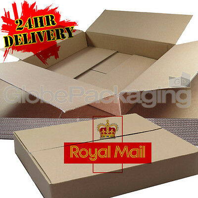 50 x MAXIMUM SIZE ROYAL MAIL SMALL PARCEL PACKET POSTAL BOX 449mm x 349mm x 79mm