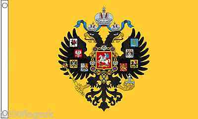 Russia Imperial Standard 1858 to 1917 5'x3' Flag