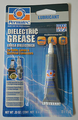 (12 pieces) Permatex 81150 Dielectric Tune-Up Grease .33 oz.Tubes