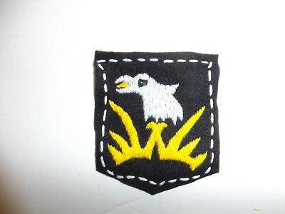 b1953 US Army 1930's 101st  Infantry Division patch black