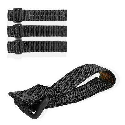 """Maxpedition 3"""" Tac Tie 4 Pack BLACK 9903B Attach Accessories to Packs, Vests"""