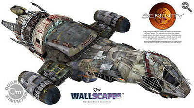 """Serenity/Firefly Giant 48"""" Wallscape Decal (SEPO-QMX-WALL)"""