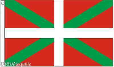 Spain Basque The Ikurriña 5'x3' Flag