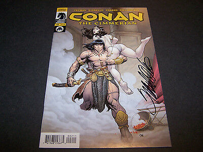 Signed Frank Cho Conan The Cimmerian #2 Dark Horse King Barbarian Robert Howard