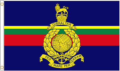Headquarters & Corps of Royal Marines 5'x3' Flag