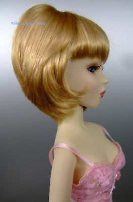 size 7//8 WIG fits MINI SUPER DOLLFIE BJD  . Color mix by Monique Ginger Wig