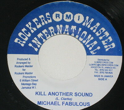 """7""""/JAMAICA/MICHAEL FABULOUS/KILL ANOTHER SOUND/a.k.a. BAD TEMPO/CRANK ANGLE RIDD"""