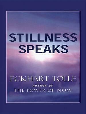 Stillness Speaks by Eckhart Tolle (English) Paperback Book Free Shipping!