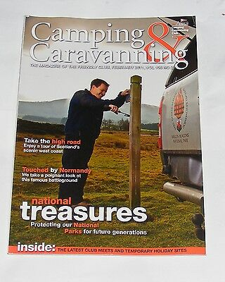 Camping & Caravanning Volume 106 No.2 February 2011 - National Parks/normandy