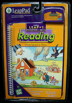 "LeapFrog LeapPad Leap 1 Reading ""Once Upon a Time"" - PreK-1st Grade - MIP"