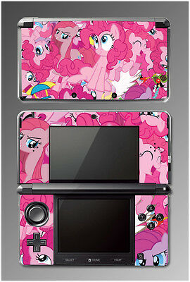 My Little Pony MLP Friendship is Magic Pinkie Pie Video Game SKIN Nintendo 3DS
