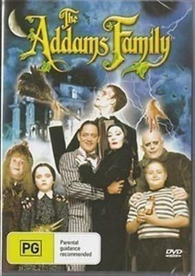 THE ADDAMS FAMILY Christopher Lloyd, Anjelica Huston, Christina Ricci DVD NEW