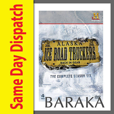 Ice Road Truckers - The Complete Season 6 DVD Box Set Five 4 Discs New & Sealed