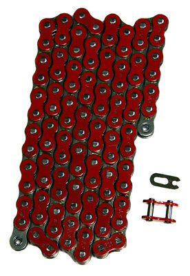 Red 520x112 Non O-Ring Drive Chain ATV Motorcycle MX 520 Pitch 112 Links