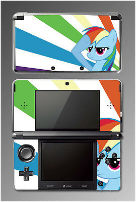 My Little Pony Friendship is Magic Rainbow Dash Video Game Cover Nintendo 3DS