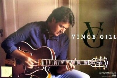 Vince Gill 2006 these days promotional poster NEW old stock Mint condition