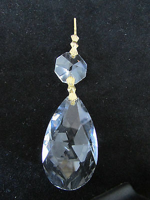 """10- 2"""" Aaa 30 % Lead Cut Crystals Prism Chandelier Parts Sun Catchers Brass"""