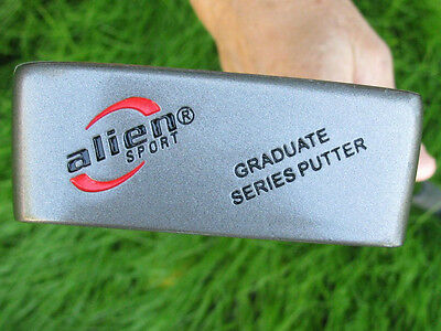 "24 LOT ALIEN SPORT BRAND PUTTERS JUNIOR OR WOMEN 31"" RH HALF MALLET STYLE"